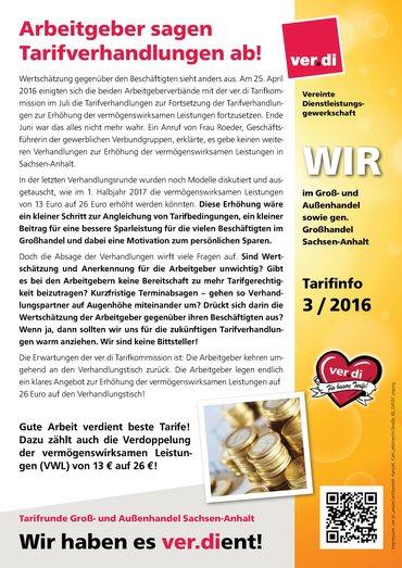Tarifinfo VWL
