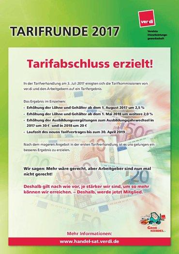 Tarifabschluss GAH Thüringen 2017-2019