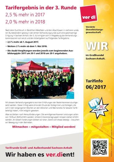 Tarifabschluss GAH Sachsen-Anhalt 2017-2019