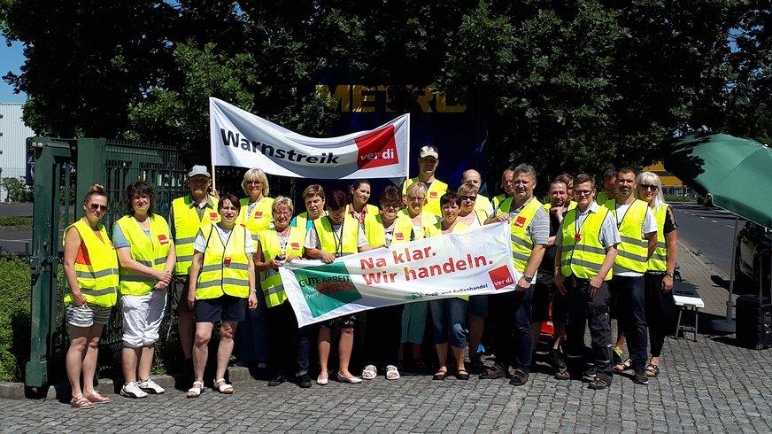 Streik Metro Dresden